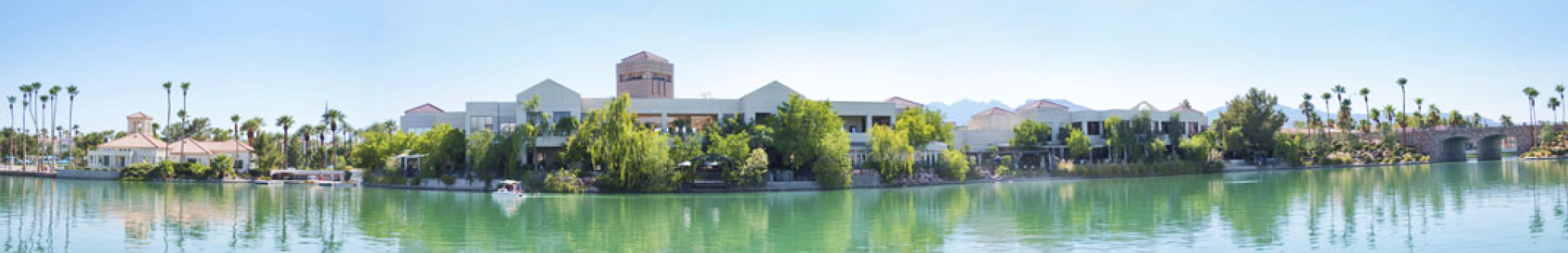 Lakeside Event Center Lake and Center Image, Desert Shores Summerlin Las Vegas