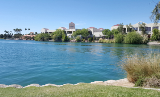 Lakeside view of Lakeside Event Center for Nevada Business Magazine