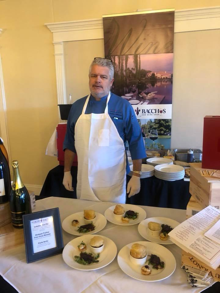 Marche Bacchus Chef at Media Day at Lakeside Event Center
