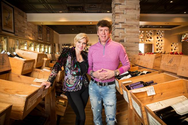 Image of Jeff and Rhonda Wyatt owners of Marche Bacchus at Lakeside Event Center