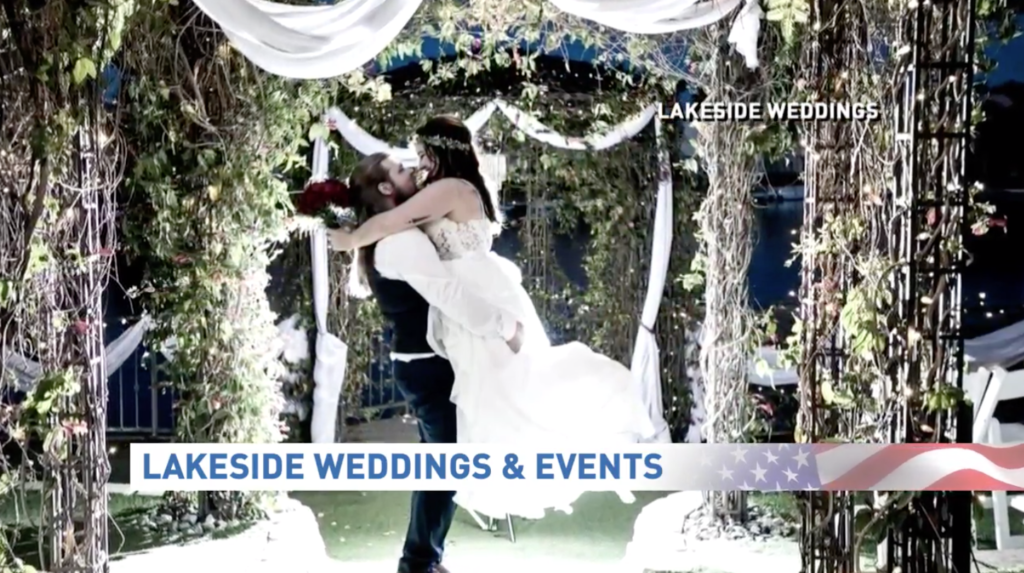 Lakeside Weddings & Events Image on News 3